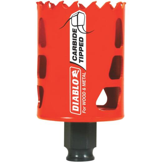 Diablo 2 In. Carbide-Tipped Hole Saw