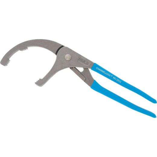 Channellock 12 In. PVC/Oil Filter Pliers with Angled Head
