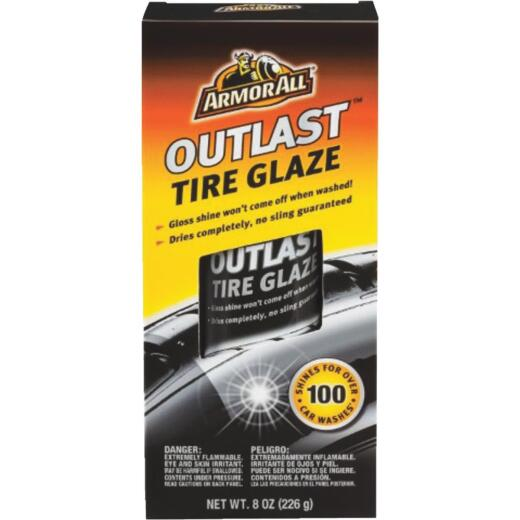 Armor All OUTLAST 8 Oz. Aerosol Spray Tire Shine Glaze