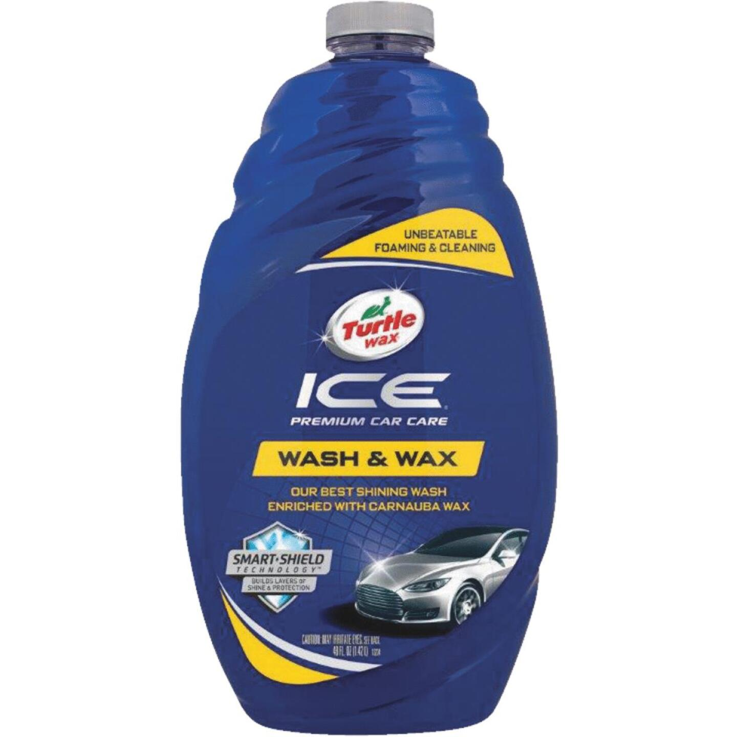 Turtle Wax ICE Liquid 48 oz Car Wash Image 1