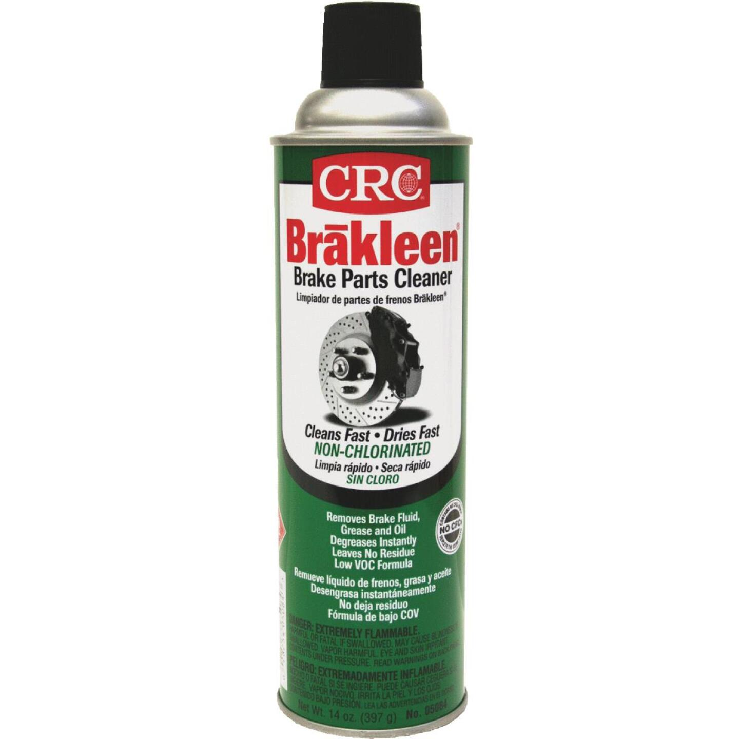 Crc Brakleen Nonchlorinated Aerosol 15 Oz Brake Cleaner Image 1